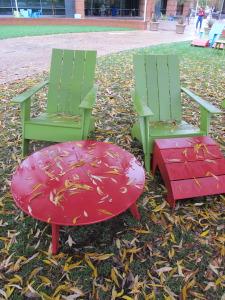 Adirondack chairs at Googleplex.