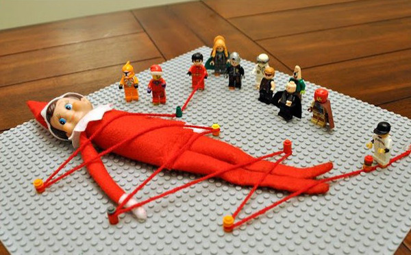 Elf on a Shelf 12.6.14 (and other scrapped traditions)