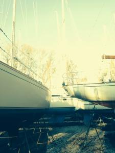 Yacht yard