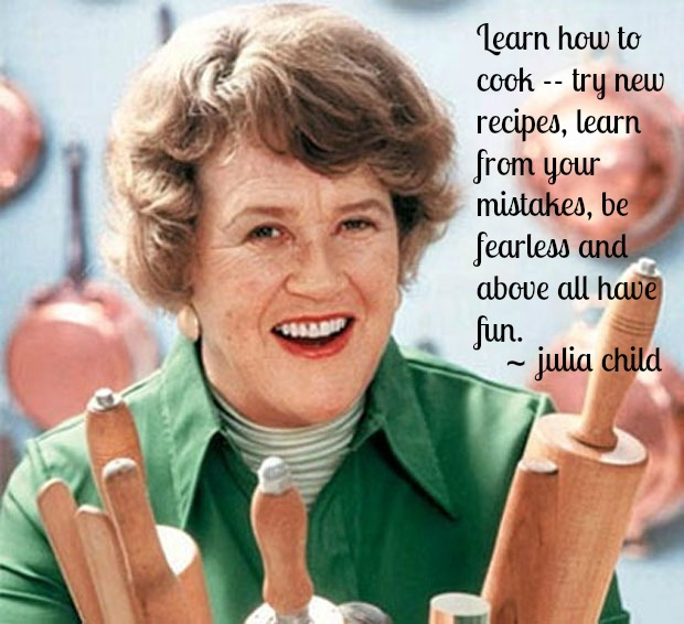 Goal setting archives being unlocked for Julia child cooking school