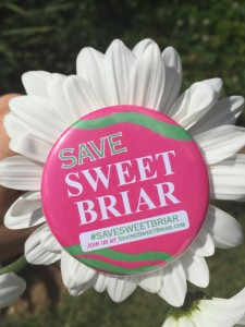 Buttons, bracelets, bumper stickers, banners, yard signs... all across America you will find alumnae and friends fighting to save Sweet Briar College!
