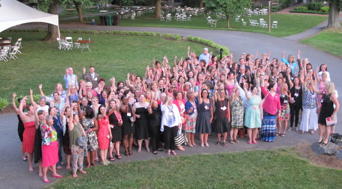 Sweet Briar College Reunion 2015:  Girls Quit…Women Fight (with words from President Emily Watts McVea in 1928)