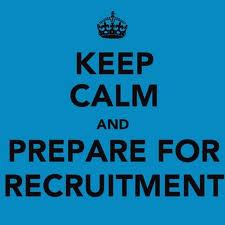 keep calm and prepare for recruiting