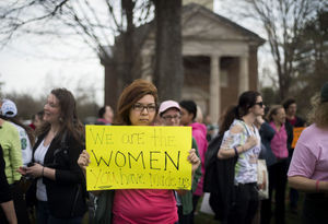 Protests at Sweet Briar College