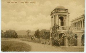 Cupola of the Bell Tower, Briar Patch post card.