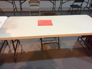Blank Slate: Arriving at the College Fair.