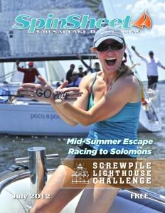 sailing waving